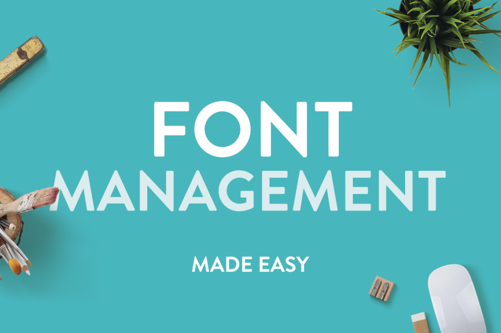 Font-management-header