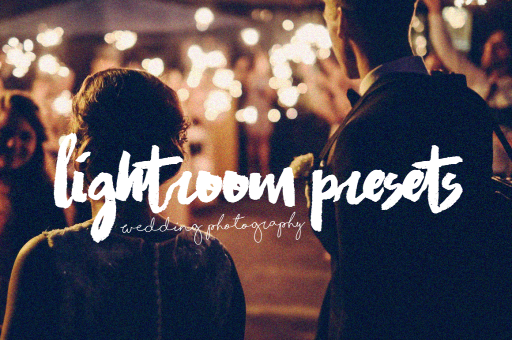 lightroom presets for wedding photography