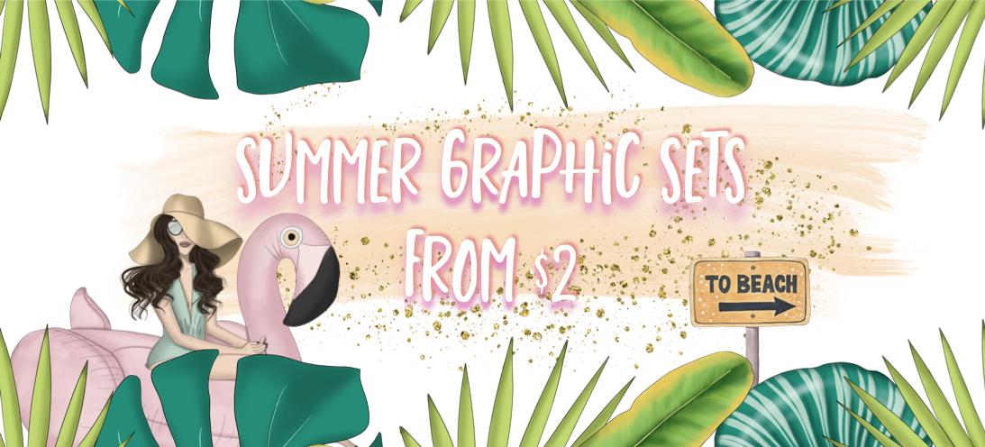 summer graphics header