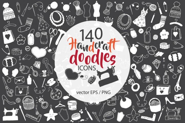 140 handcraft doodles by evgeniiasart 2