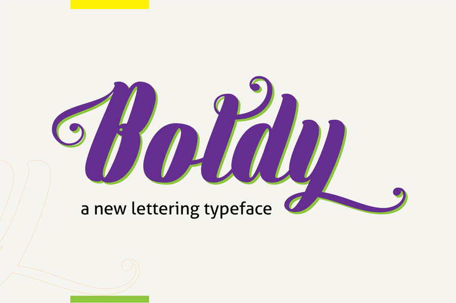 Explore Our Collection of Free Fonts - Boldly font on TheHungryJPEG