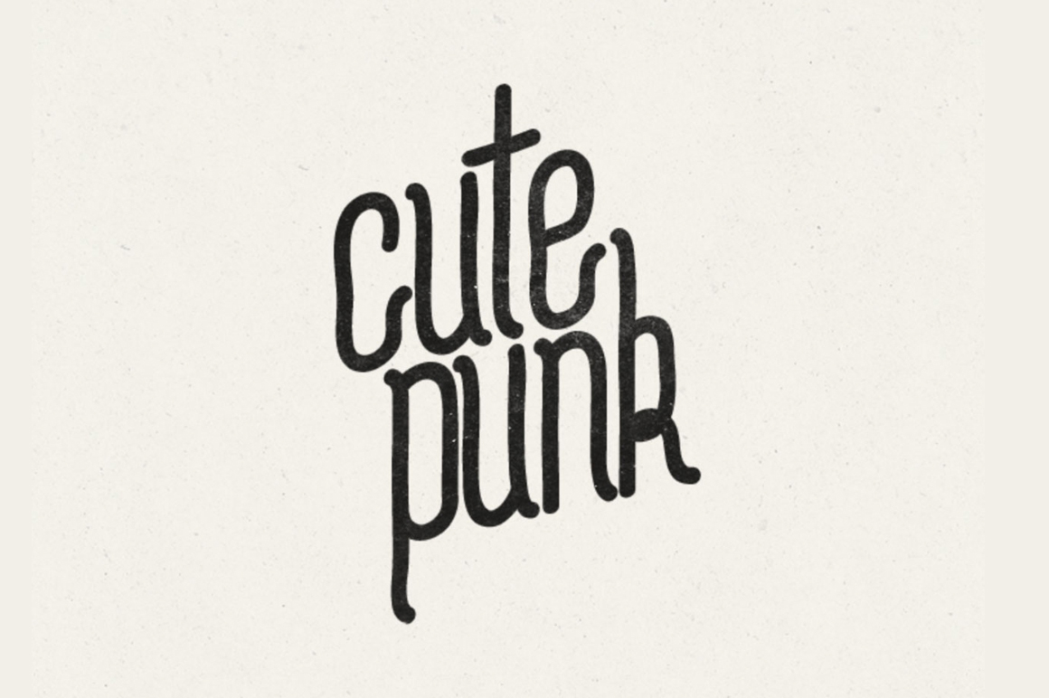 Explore Our Collection of Free Fonts - Cute Punk font on TheHungryJPEG