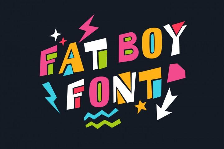 Fat Boy Font