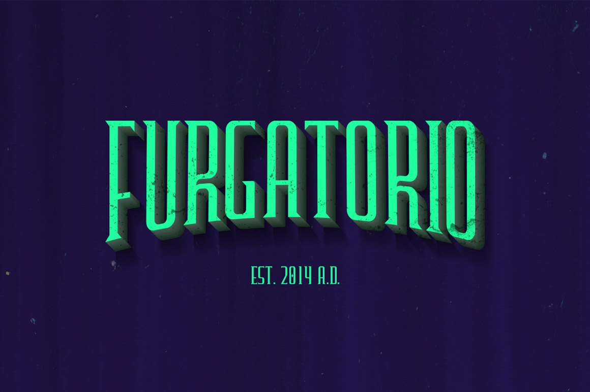 Explore Our Collection of Free Fonts - Furgatorio font on TheHungryJPEG
