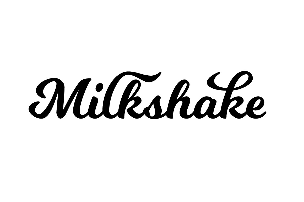 Explore Our Collection of Free Fonts - Milkshake font on TheHungryJPEG