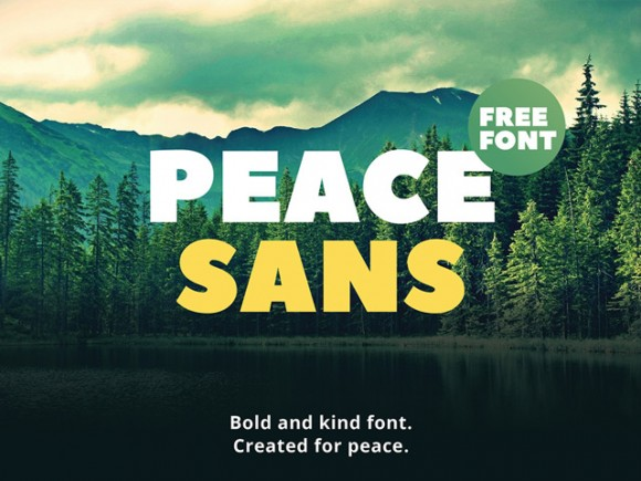 Explore Our Collection of Free Fonts - Peace Sans font on TheHungryJPEG