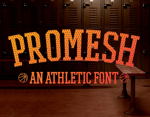 Explore Our Collection of Free Fonts - Promesh font on TheHungryJPEG