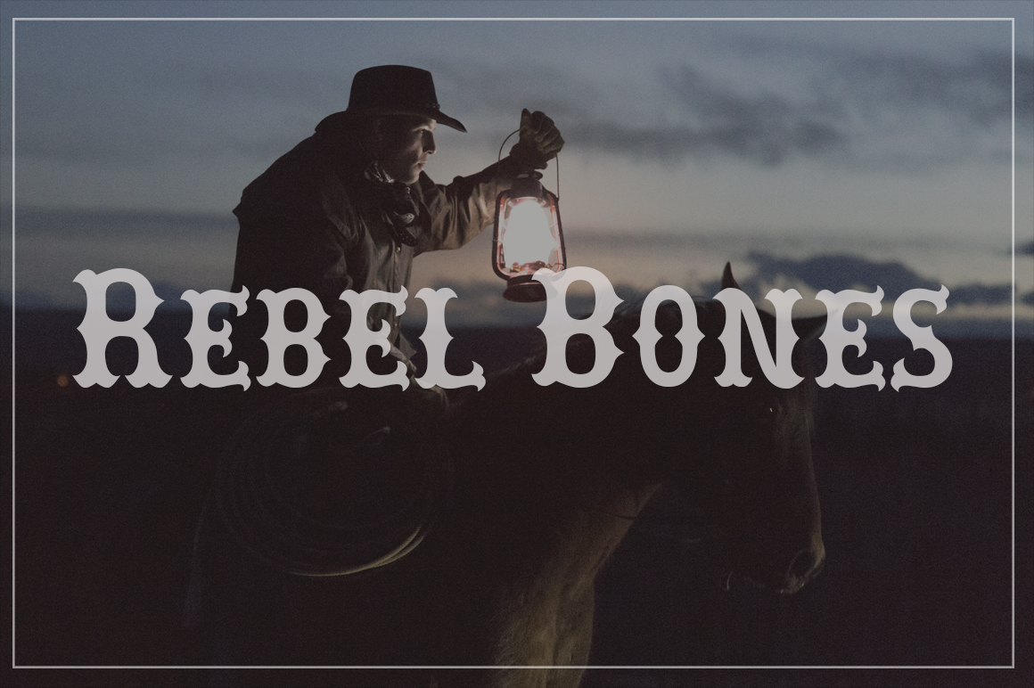 Explore Our Collection of Free Fonts - Rebel Bones font on TheHungryJPEG