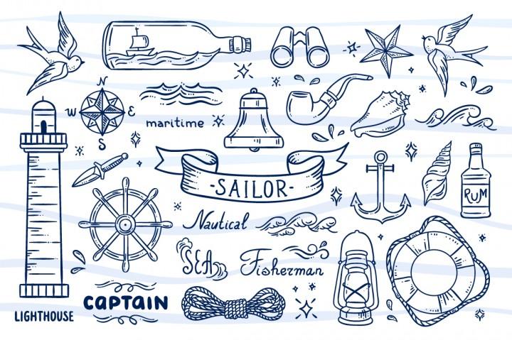 Sailor Illustrations redchocolate 2