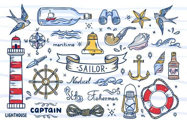 Sailor Illustrations redchocolate