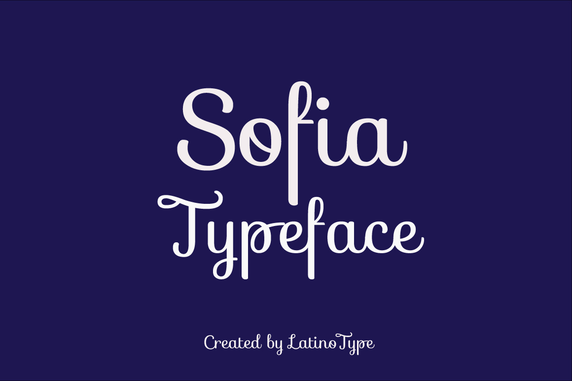 Explore Our Collection of Free Fonts - Sofia font on TheHungryJPEG