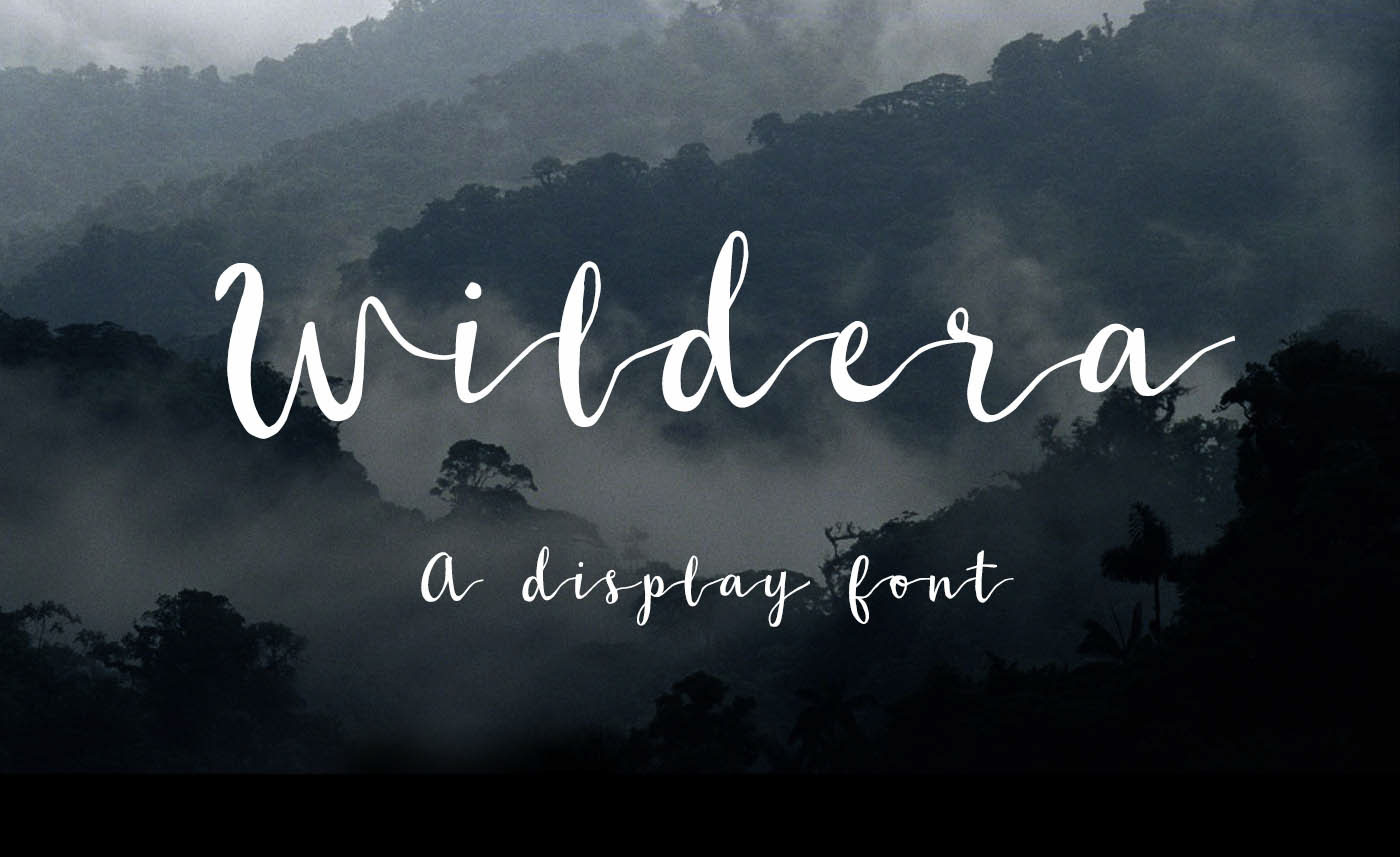 Explore Our Collection of Free Fonts - Wildera font on TheHungryJPEG