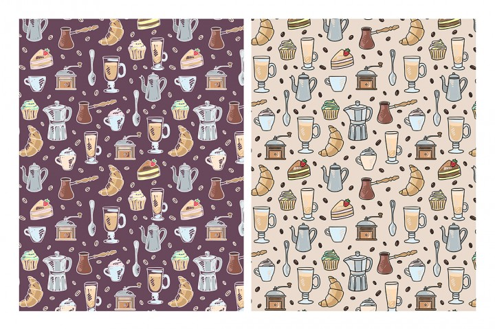coffee time illustrations by Redchocolate illustrations 2