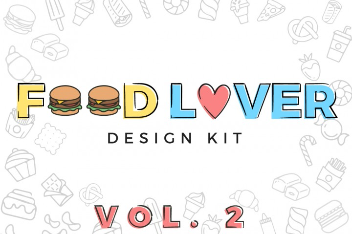 food lover design kit by latin vibes