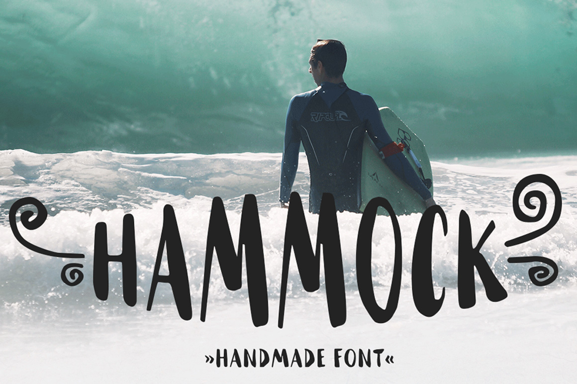 Explore Our Collection of Free Fonts - Hammock font on TheHungryJPEG