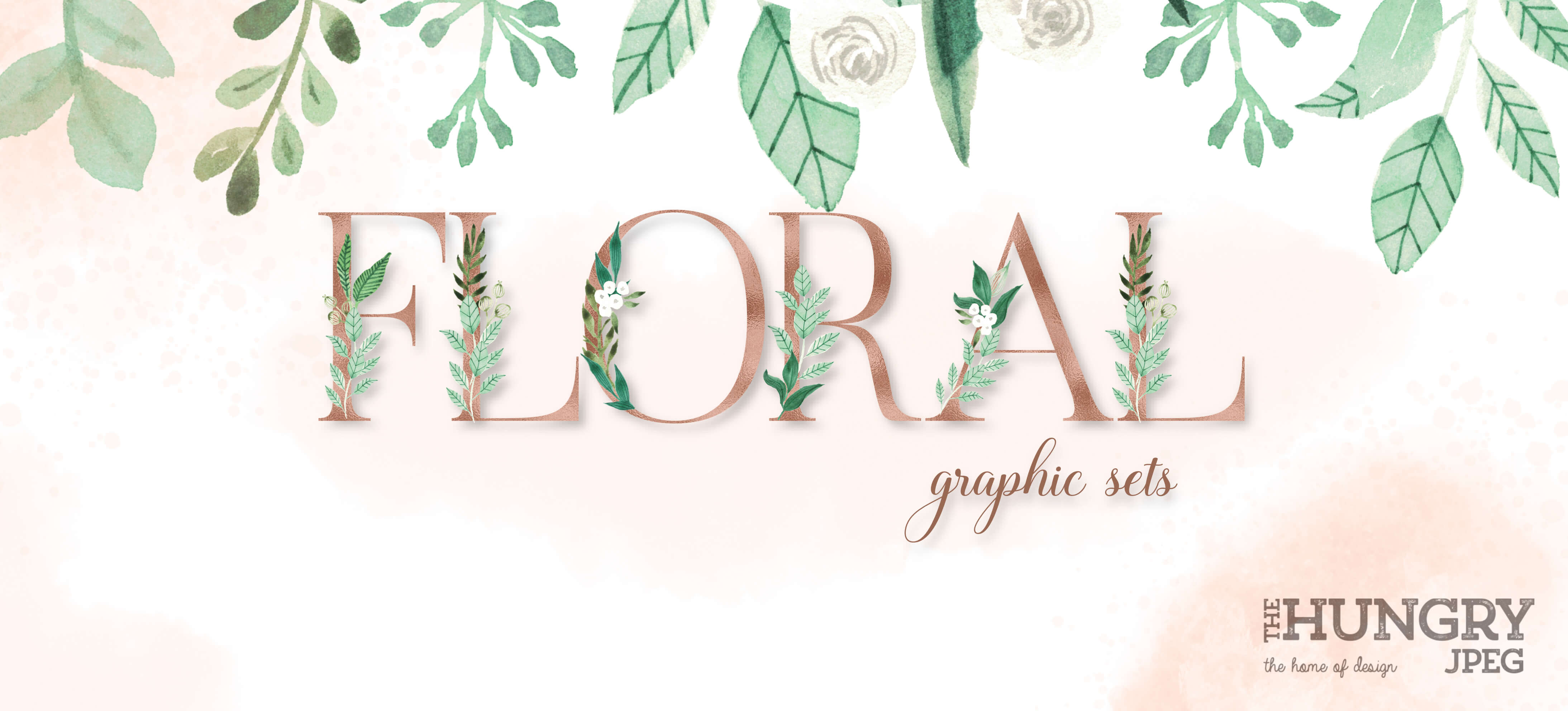 FLORAL GRAPHICS HEADER
