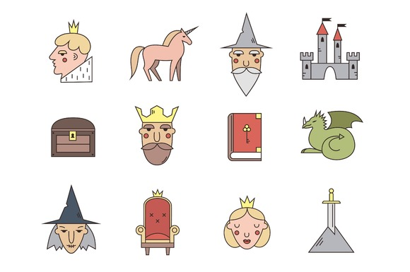 Fairy Tale Icons by Annais