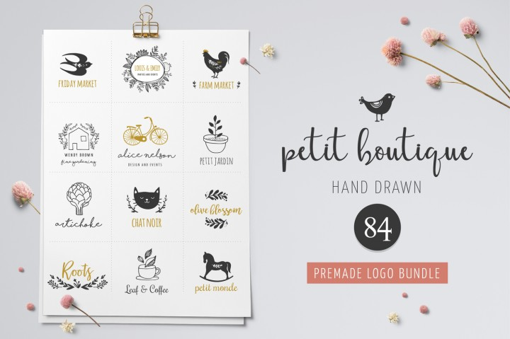 Logo Boutique - Premade Logo Templates by Marish