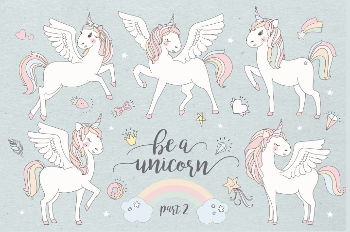 Magical Collection of Unicorns 2