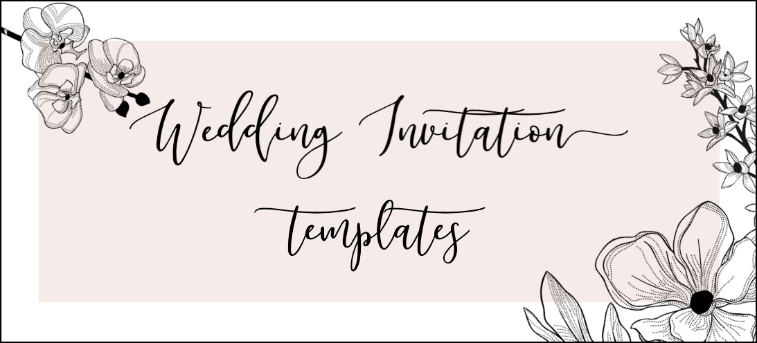 gorgeous wedding invitation templates the hungry jpeg