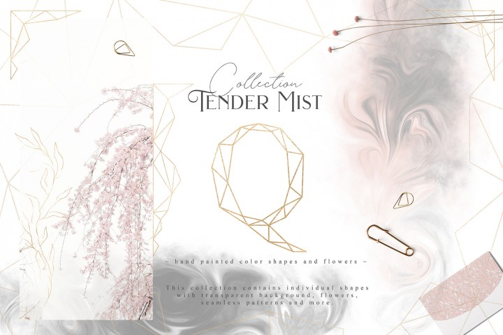 Tender Mist Collection by Julia Dreams
