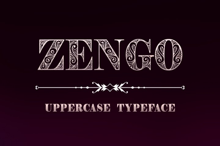 Zengo Font by DigitalTypeFaceS
