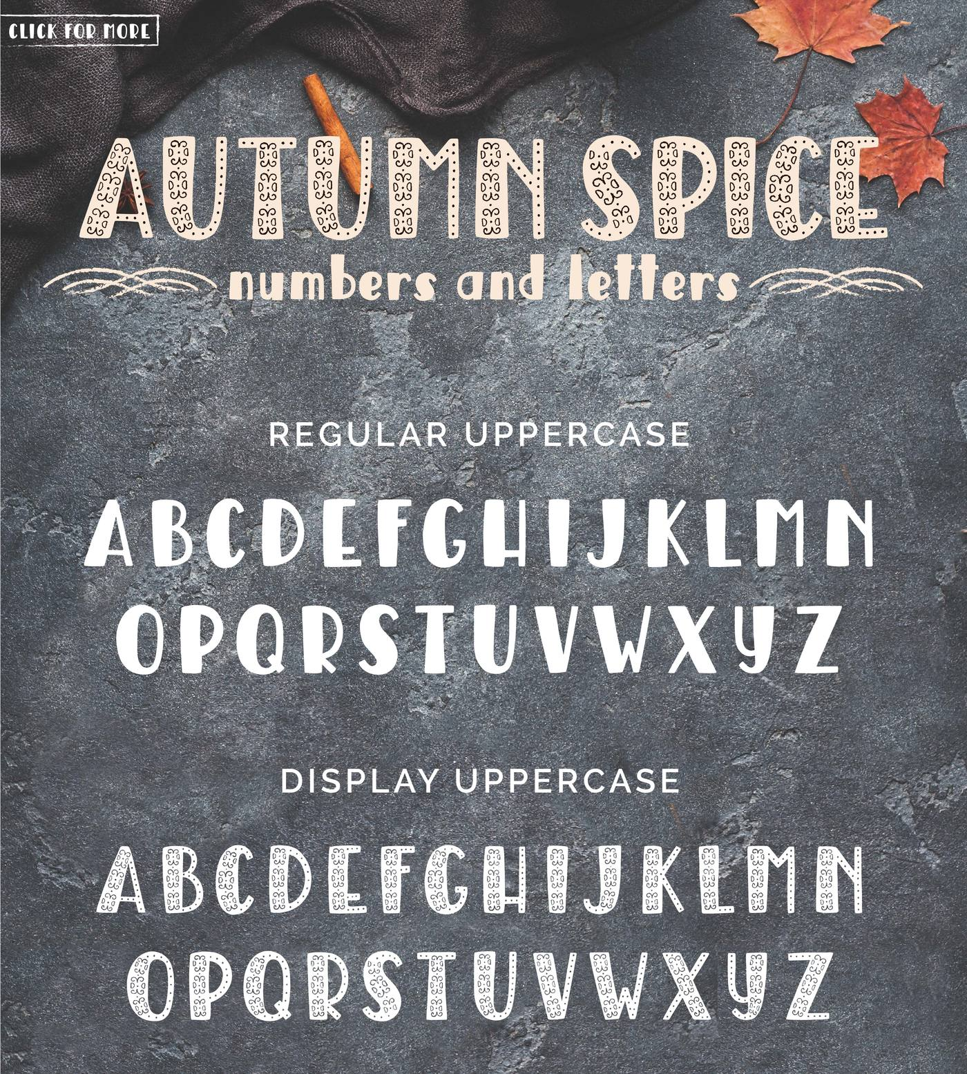 Freebies: Autumn Spice Font - The Hungry JPEG Blog
