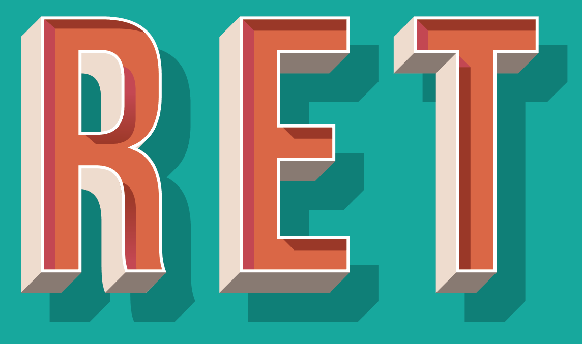Design Your Own Retro 3D Text Effect - THJ Blog