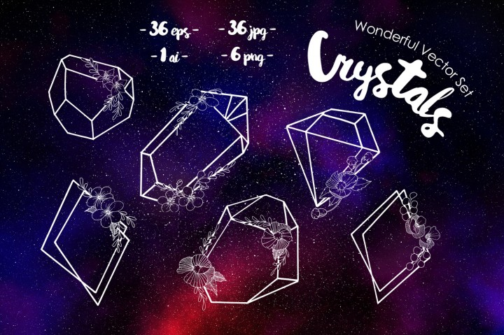 Freebies: Wonderful Crystals