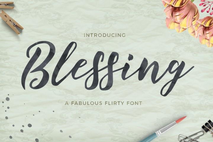 Freebie Blessing Script
