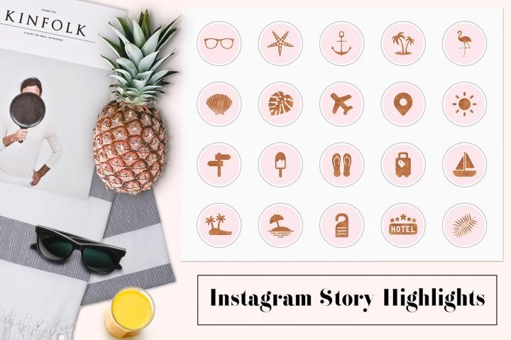 10 Brilliant Instagram Highlight Icon Sets