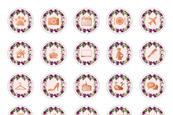 Christmas Icon For Instagram Highlights.10 Brilliant Instagram Highlight Icon Sets The Hungry Jpeg