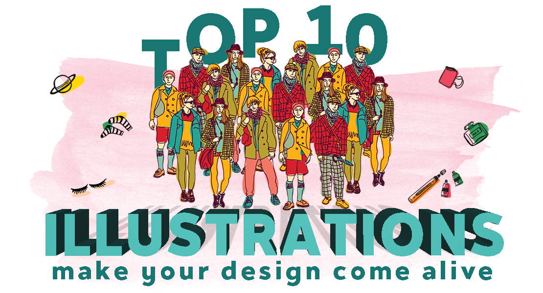 Top 10 Illustrations To Make Your Designs Come To Life