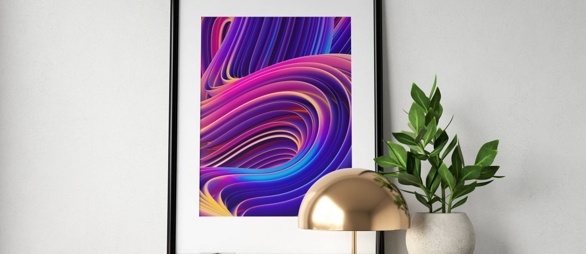 Creating A Summer Project? Here's How To Make Use Of 2019's 3D Gradient Design Trends!