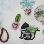 DIY: Plant Pins from Magic Plastic with Summer Graphic Bundle