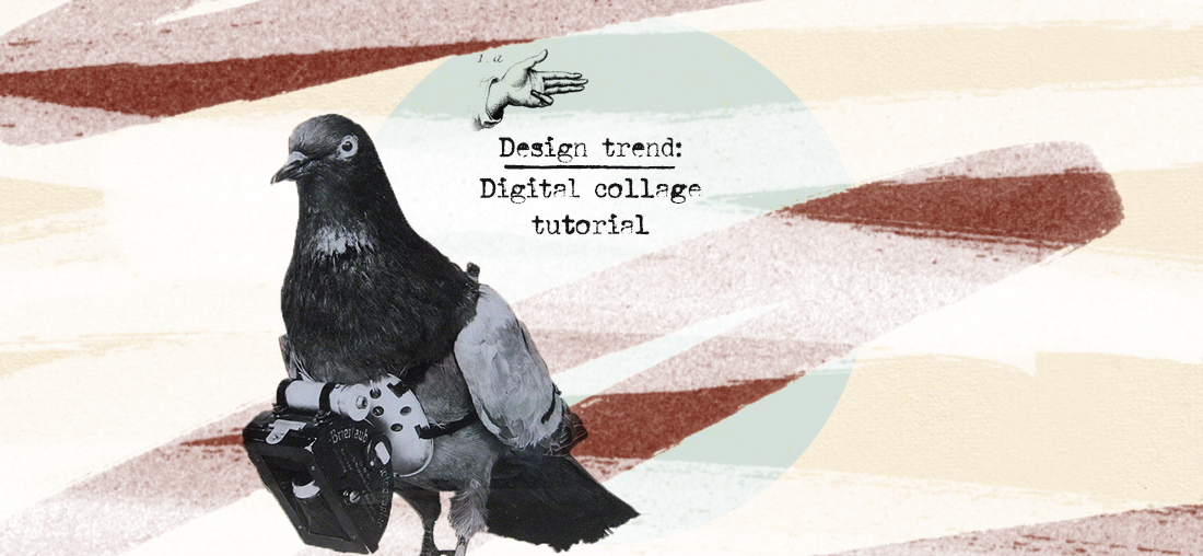 5 Easy Steps for a Design trend: Digital Collage Tutorial - TheHungryJPEG Blog