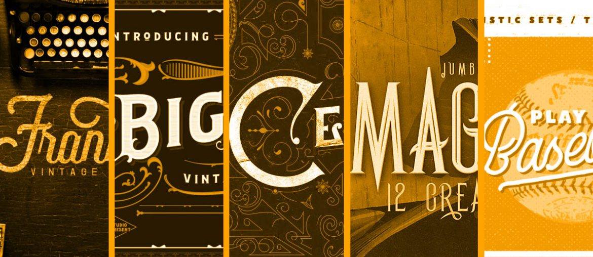 Grab These Top 5 Vintage Fonts To Create Retro Vibes - THJ Blog