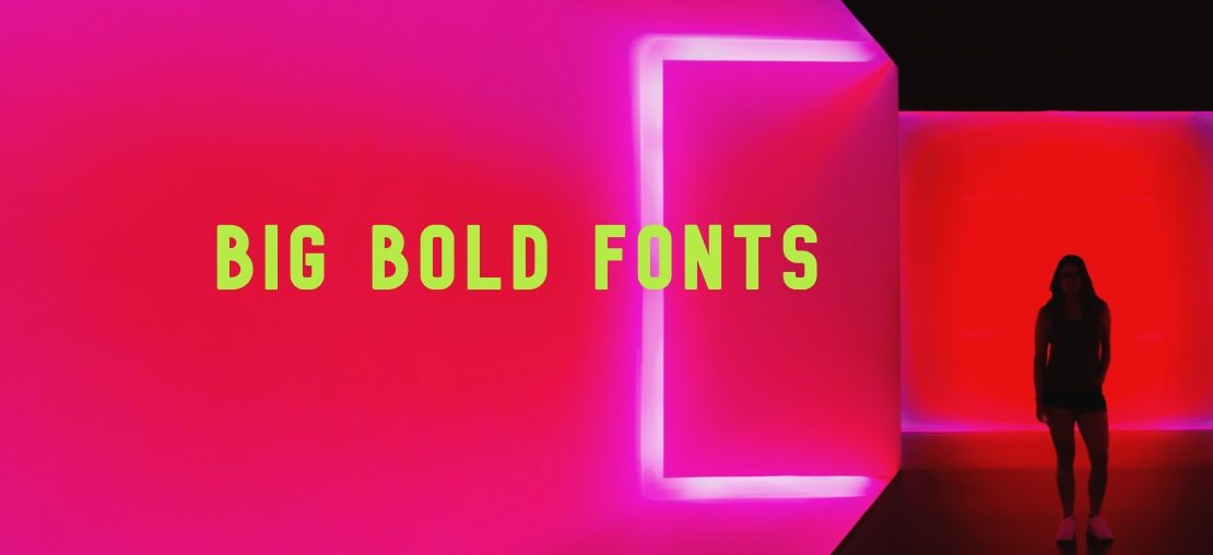 10 Big, Bold Fonts For Eyeball Grabbing Titles - THJ Blog