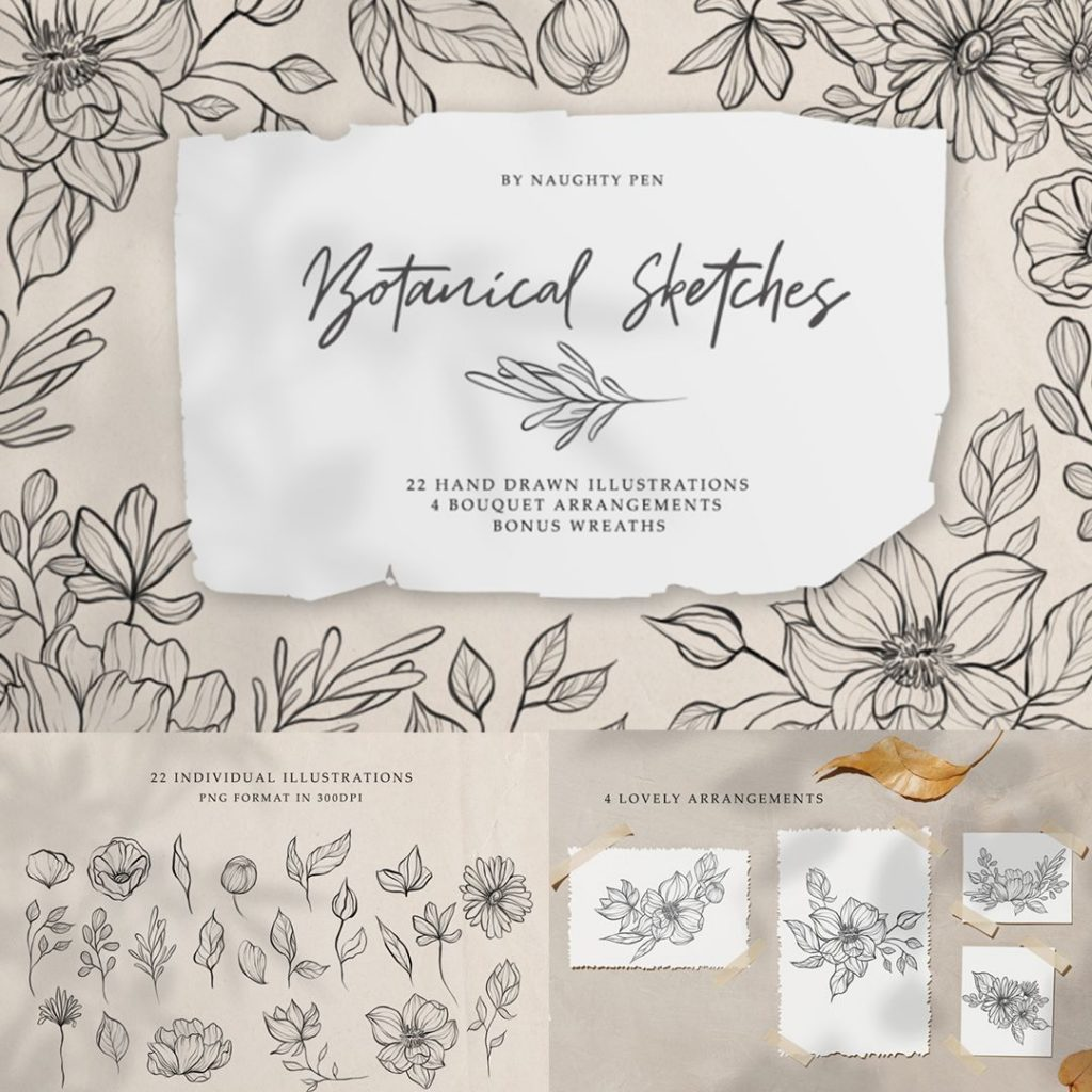 Exclusive Deal: The Exquisite Floral Graphics Bundle is Blooming!