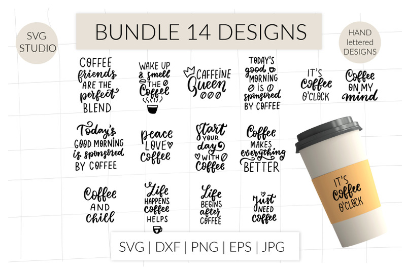 5 Free Coffee SVG For A Better Day