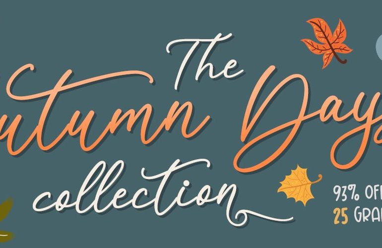 Get 93% OFF on our Autumn Days Collection NOW!