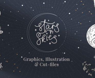 Graphic Designer Of The Week: Stars N Skies | TheHungryJPEG