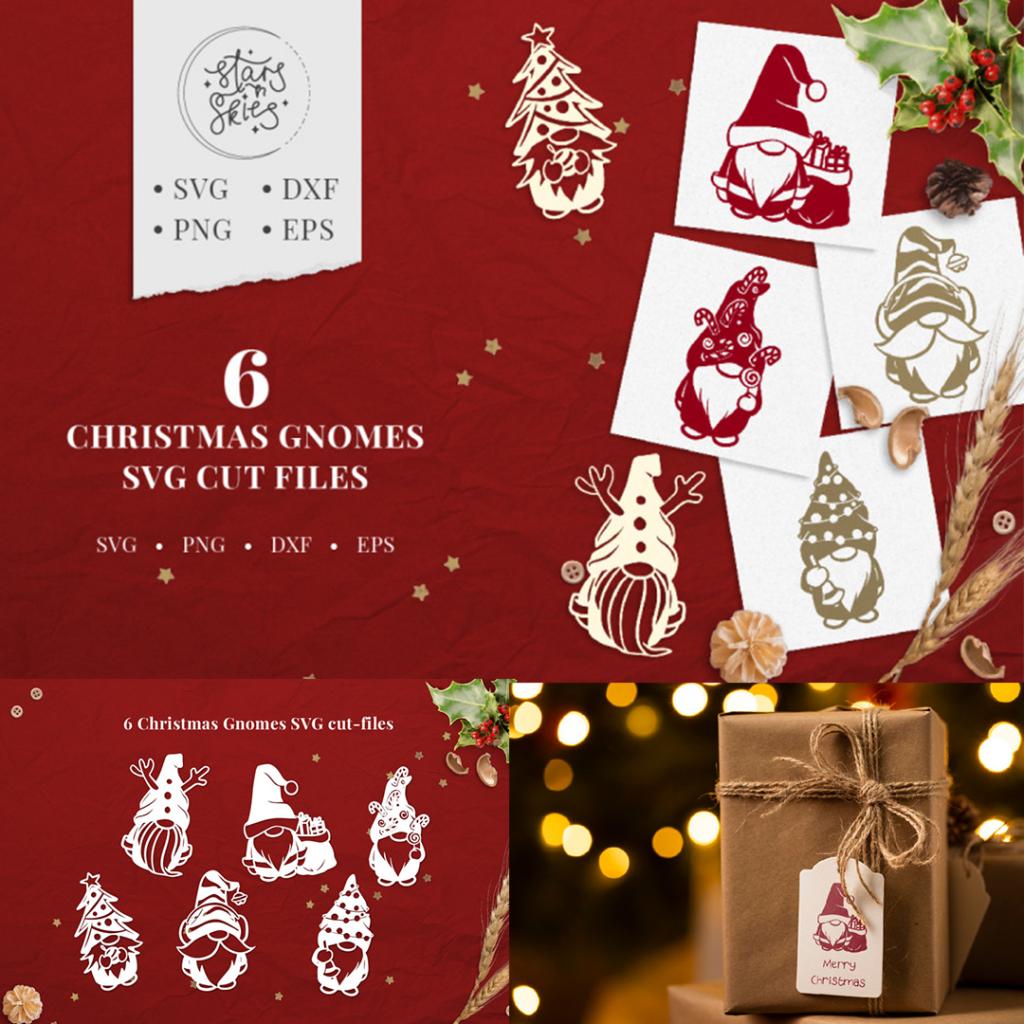 Christmas Bundle With 34 Stunning SVG Packs From TheHungryJPEG