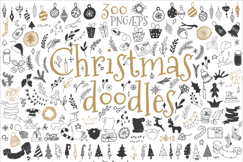 Happy National Doodle Day! Here's 9 Doodles-Themed Packs For You