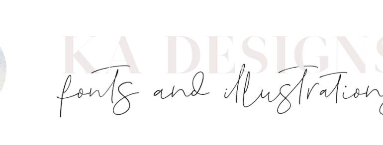 Font Designer Of The Week: KA Designs | TheHungryJPEG