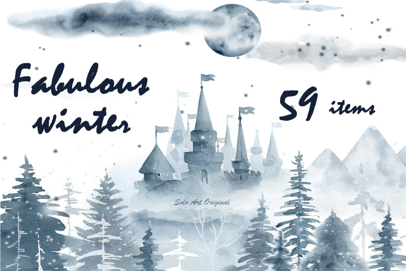39 Latest Packs Of Winter Designs In The Winter Bundle
