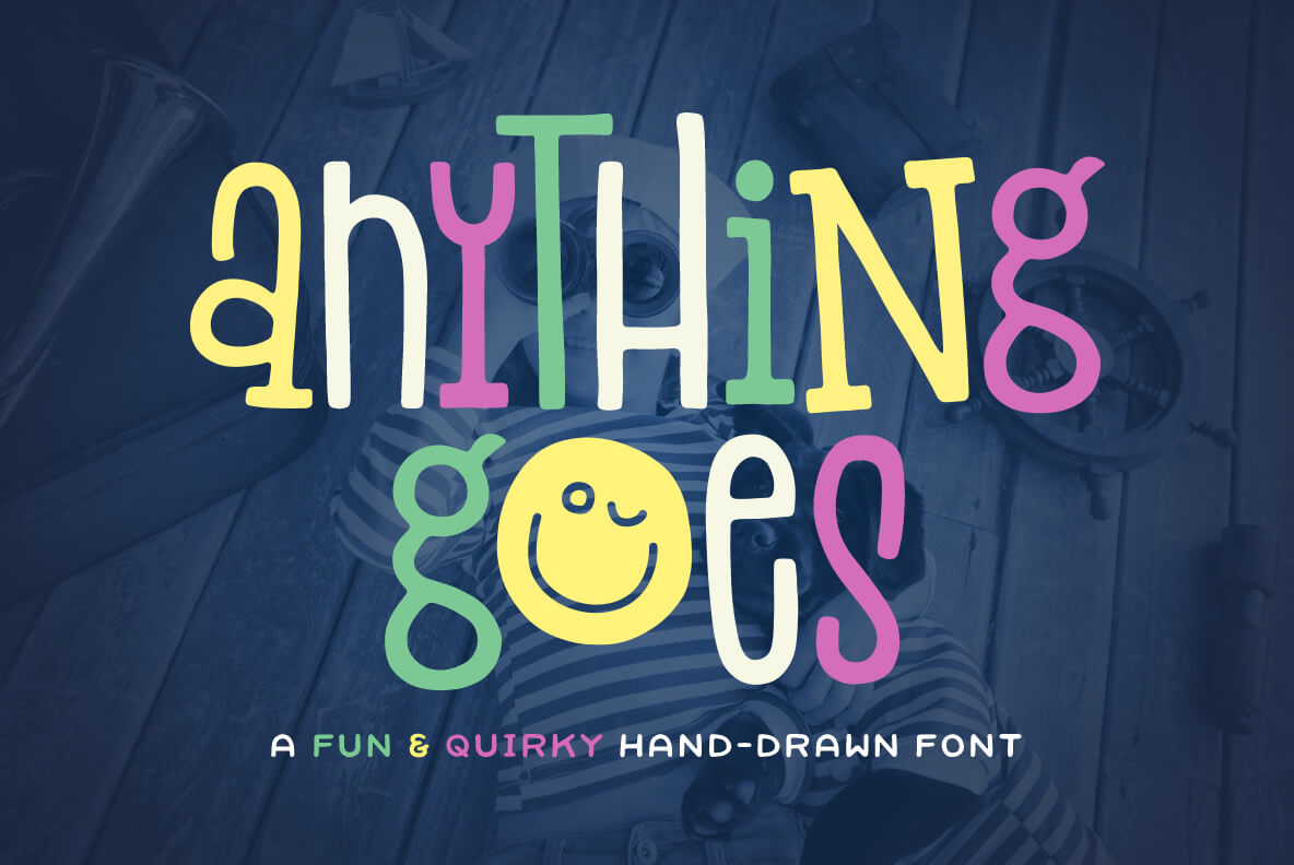 Anything Goes Font 1