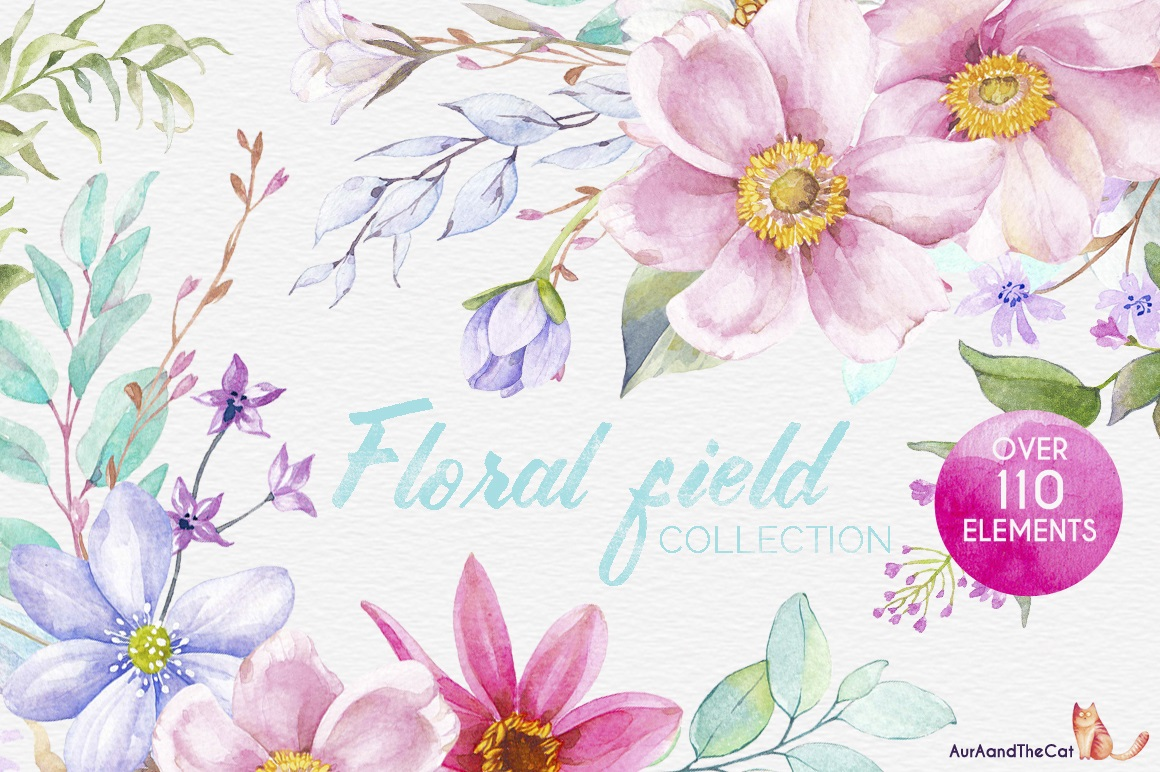 Floral Field Collection - The Spring Romance Bundle