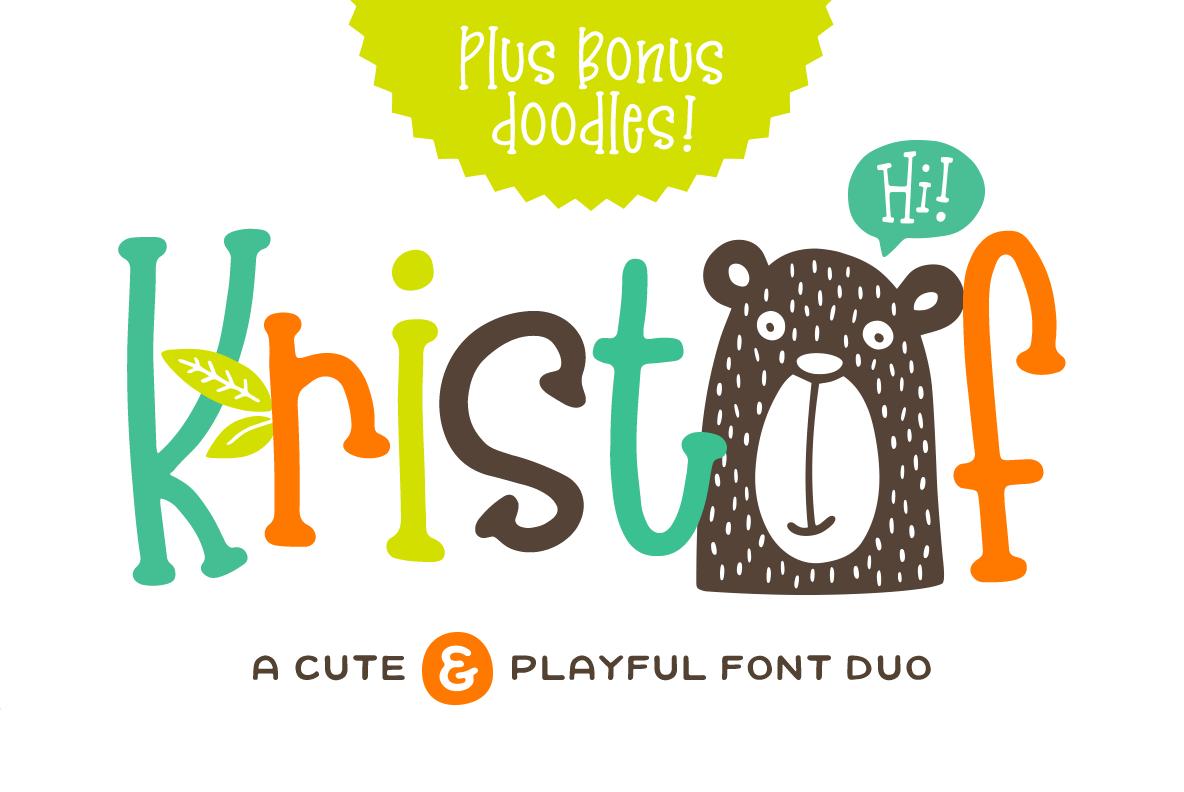 Kristof Font Duo 1