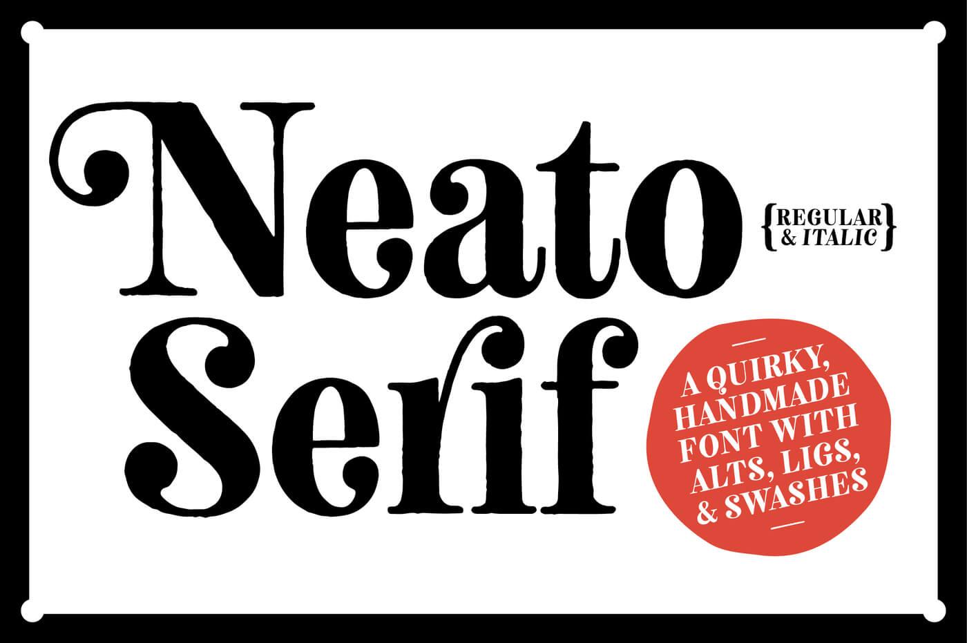 Neato Serif 1